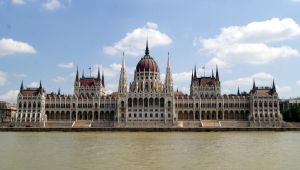 Parliament Building Budapest by Meernebel