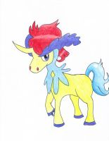Keldeo Colored by BlueMew919