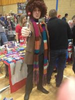 Fourth Doctor Who 'Wigan Comic-Con 18' by extraphotos