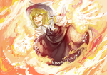 WITCHES BURNS YOU by Shinigamiwyvern