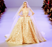 70 Wedding dress Elie Saab by justmyintuition