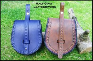 FOR SALE Viking Belt Pouches by Half-Goat