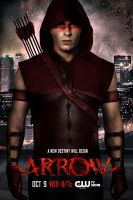 Red Arrow / Roy Harper - Fanmade Arrow Poster by EneerGy-ART