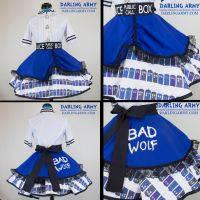 Doctor Who TARDIS Cosplay Lolita Skirt by DarlingArmy