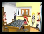 MMD- A Normal Day by LitteleYuki