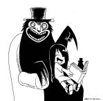 Erma and The Babadook by BJSinc
