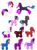 Breedable with Smiley the Traditional Earth Pony by SnowingRoses