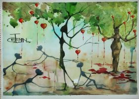 starvation of love and consumption of lust by jesin-amina