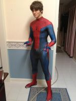 My Amazing Spiderman suit (v 1.0) by Immarumwhore