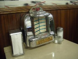 Canada - diner - jukebox 01 by barefootliam-stock