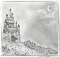 Bathory's Castle by Emy4ART