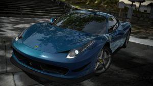ferrari 458. GT5 by daz1200