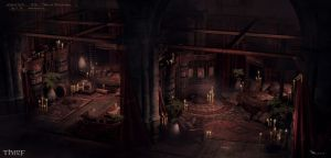 Thief - HoB VIP Rooms by MatLatArt