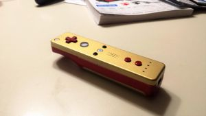 49ers Themed Wii Mote by TradermonTrades