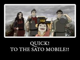 LOK- TO THE SATO MOBILE by KigenNaiteiru