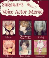 I had to do this voice actor meme lol by Neire-X