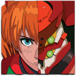 Evangelion Asuka Portrait Mock Up by The-Paper-Pony