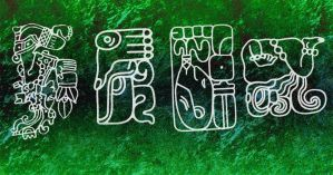 aztecs symbols brushes by two-ladies-stocks