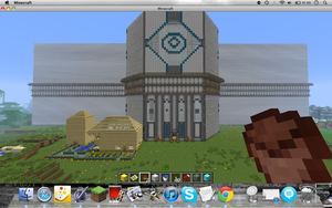 (Full screen) Minecraft Masion Preview part 2(fron by Mustache7neko