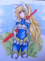 fionna the warrior by mizzue