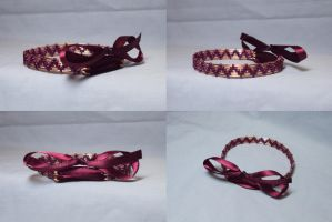 Prototype Ribbon Bangle by ACrowsCollection
