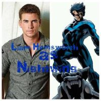 Liam Hemsworth as Nightwing by tdt2003