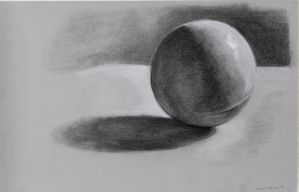 Sphere study by Crackinthewall