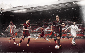 Eighth final Champions Leage 2014/15 by MarkARTGD
