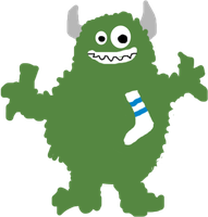 Meeks, The Sock Monster (picture) by rlynbook