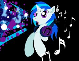 Vinyl Scratch-Whoa by Suirano