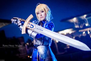Fate/Stay Night-Saber by josephlowphotography