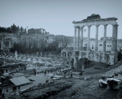 The Roman Forum by alamic-marius