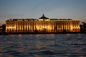 St Petersburg at Night by phinal-ger