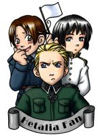 Hetalia Fan Badge by ScuttlebuttInk