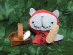 Red Riding Wolf w Baguette by 3laughingladies
