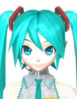 Project diva Arcade Hatsune Miku finished eyes by johnjan11