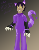 Human Cheshire Cat by DragonsAndDreamscape