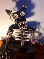 Five nights at Freddy's Lego endo skeleton WIP 2 by Ian-exe