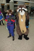 Fursuiting at Comikaze 2014 by Surferbrg