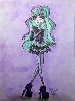 Twyla from Monster High by TaliShemes