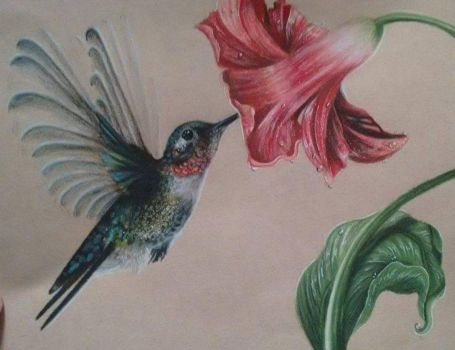 Hummingbird by Ducks-with-Crayons