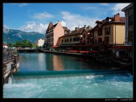 Annecy Afternoon by GeraldWinslow