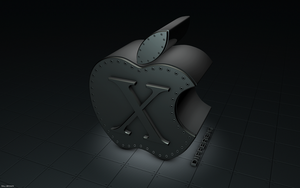 Apple Black by At0mArt