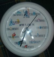 Final Fantasy Clock by Ansem87