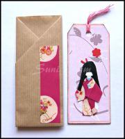 Bookmark pink II by SuniMam
