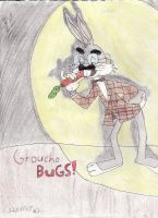 Groucho Bugs by BlastShieldBuddy