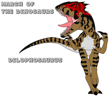 March of the Dinosaurs - day 13 by Absol989