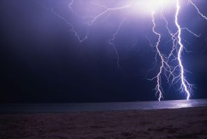 Lightning in Perth by Nighthawk117A