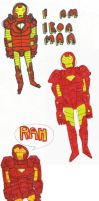 I AM IRON MAN by MANeatingCLOTHES