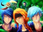 Crossing Earth rookies by Kaizoku-hime